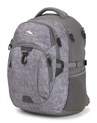 High Sierra BTS Backpacks JARVIS WOOLLY WEAVE/SLATE