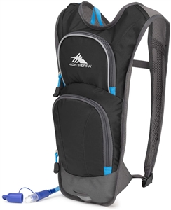 High Sierra HydraHike HydraHike 4L Hydration Pack Black/Slate/Pool