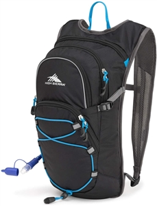 High Sierra HydraHike HydraHike 8L Hydration Pack Black/Slate/Pool