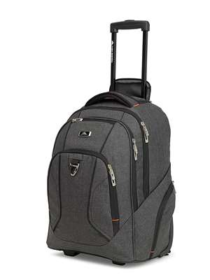 High Sierra ENDEAVOR WHEELED BACKPACK BLACK
