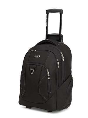 High Sierra ENDEAVOR WHEELED BACKPACK MERCURY HEATHER/BLACK