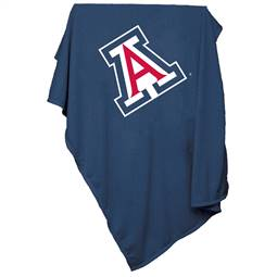 University of Arizona Wildcats Sweatshirt Blanket