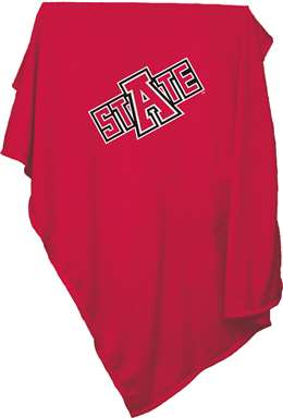 Arkansas State University  Sweatshirt Blanket 84 x 59