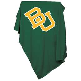 Baylor University Bears Sweatshirt Blanket 74 -Sweatshirt Blnkt