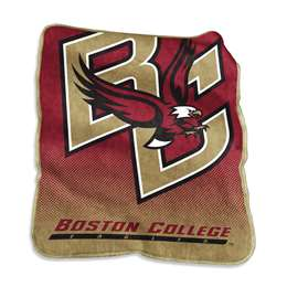 Boston College Eagles 26A Raschel Throw Fleece Blanket