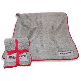"Ball State University Frosty Fleece Blanket 60"" X 50"""