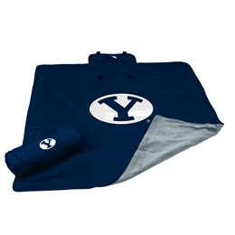 Brigham Young University BYU Cougars All Weather Blanket 73 -All Weather Blkt