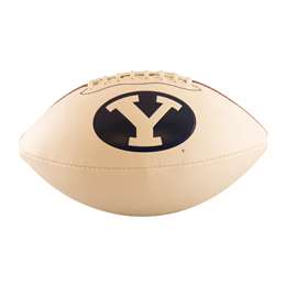 Brigham Young University BYU Cougars Full-Size Autograph Football 93FA - FS Auto FB