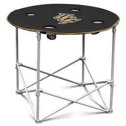 University of Central Florida Knights Round Folding Table with Carry Bag