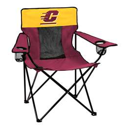 Central Michigan University Elite Folding Chair with Carry Bag