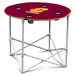 Central Michigan University  Round Table Folding Tailgate Camping