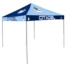 The Citadel Bulldogs  9 ft X 9 ft Tailgate Canopy Shelter Tent