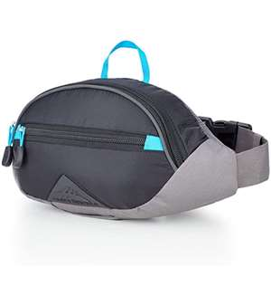 High Sierra HydraHike HydraHike 3L Waist Pack BLACK/SLATE/POOL