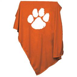 Clemson University Tigers Sweatshirt Blanket 74 -Sweatshirt Blnkt