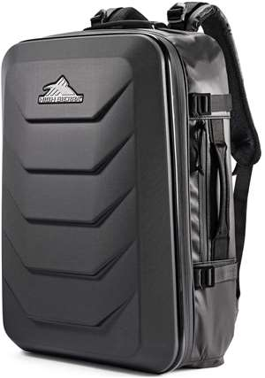 "High Sierra OTC 22"" Hybrid Backpack Black/Black"