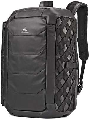 High Sierra OTC Convertible Duffel Black/Black