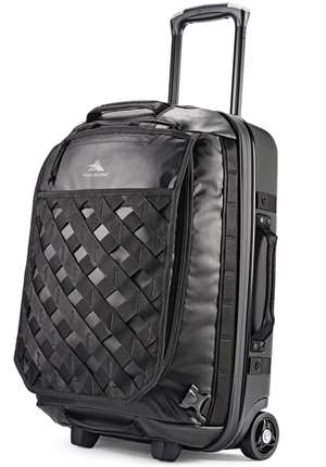 "High Sierra OTC 22"" Wheeled Backpack Black/Black"