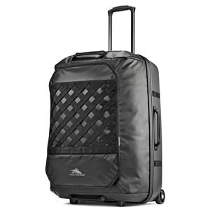 "High Sierra OTC 32"" Wheeled Duffel Upright Black/Black"