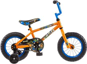 Pacific Boy's Flex Bicycle, Orange 12 in.