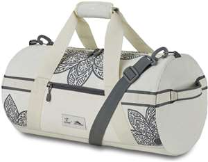 High Sierra Life Is Good Cargo Duffel Mandala PUTTY WHITE/SLATE GREY