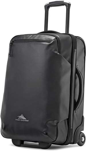 High Sierra Rossby Coated 22 UPRIGHT BLACK/BLACK