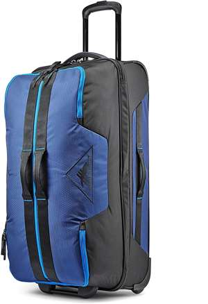 High Sierra Dells Canyon 28 WHEELED DUFFEL TRUE NAVY/BLACK/SPORT BLUE