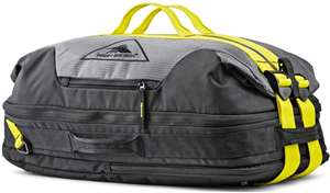 High Sierra Dells Canyon CONVERTIBLE DUFFEL MERCURY/BLACK/GLOW