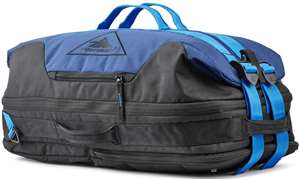 High Sierra Dells Canyon CONVERTIBLE DUFFEL TRUE NAVY/BLACK/SPORT BLUE
