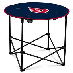 University of Dayton Flyers Round Folding Table with Carry Bag