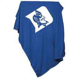 Duke University Blue Devils Sweatshirt Blanket 74 -Sweatshirt Blnkt