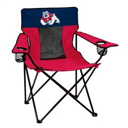 Fresno State University Bulldogs Elite Folding Chair with Carry Bag