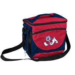 Fresno State University Bulldogs 24 Can Cooler