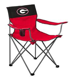 University of Georgia Big Boy Folding Chair with Carry Bag