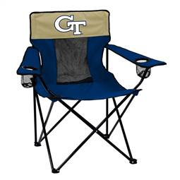 Georgia Tech Yellow Jackets Elite Chair Folding Tailgate