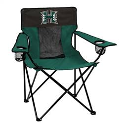 University of Hawaii Warriors Elite Folding Chair with Carry Bag