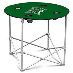 University of Hawaii Warriors  Round Table Folding Tailgate Camping