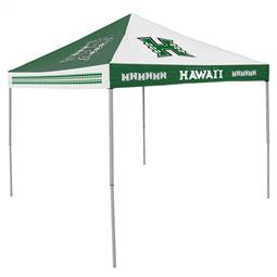 University of Hawaii Warriors  9 ft X 9 ft Tailgate Canopy Shelter Tent