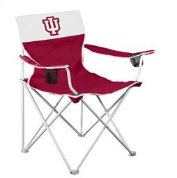 Indiana University Hoosiers Big Boy Folding Chair with Carry Bag