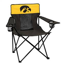 University of Iowa Hawkeyes Elite Folding Chair with Carry Bag