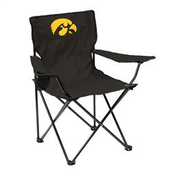 University of Iowa Hawkeyes Quad Folding Chair with Carry Bag