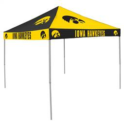 University of Iowa Hawkeyes 9 X 9 Checkerboard Canopy - Tailgate Tent