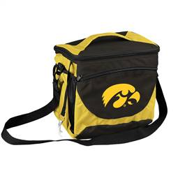 University of Iowa Hawkeyes 24 Can Cooler