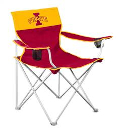 IA State Cyclones Big Boy Folding Chair with Carry Bag