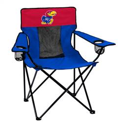 University of Kansas Jayhawks Elite Folding Chair with Carry Bag