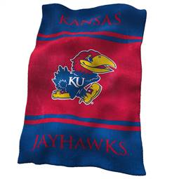 University of Kansas Jayhawks Ultrasoft Throw Blanket