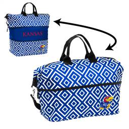 University of Kansas Jayhawks Expandable Tote Bag