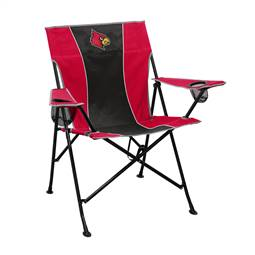 University of Louisville Cardinalss Pregame Folding Chair with Carry Bag