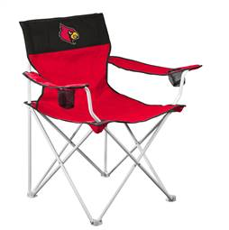 University of Louisville Cardinals Big Boy Folding Chair with Carry Bag