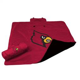 University of Louisville Cardinals All Weather Blanket 73 -All Weather Blkt