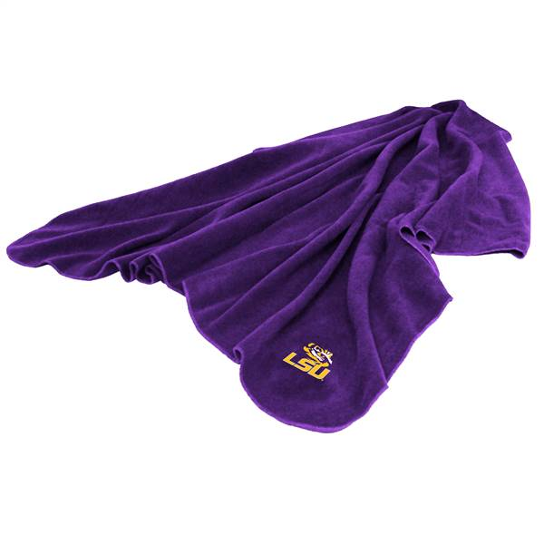 LSU Louisiana State University Tigers Huddle Fleece Throw Blanket